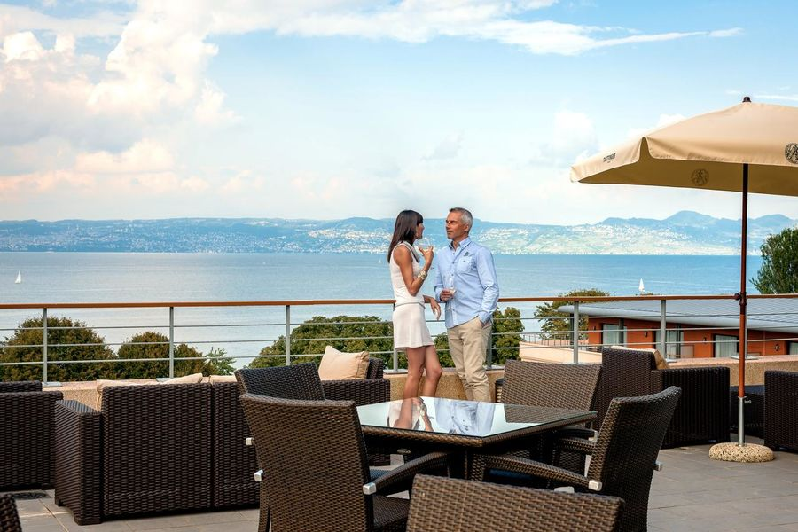 Hilton Evian-Les-Bains Terrasse
