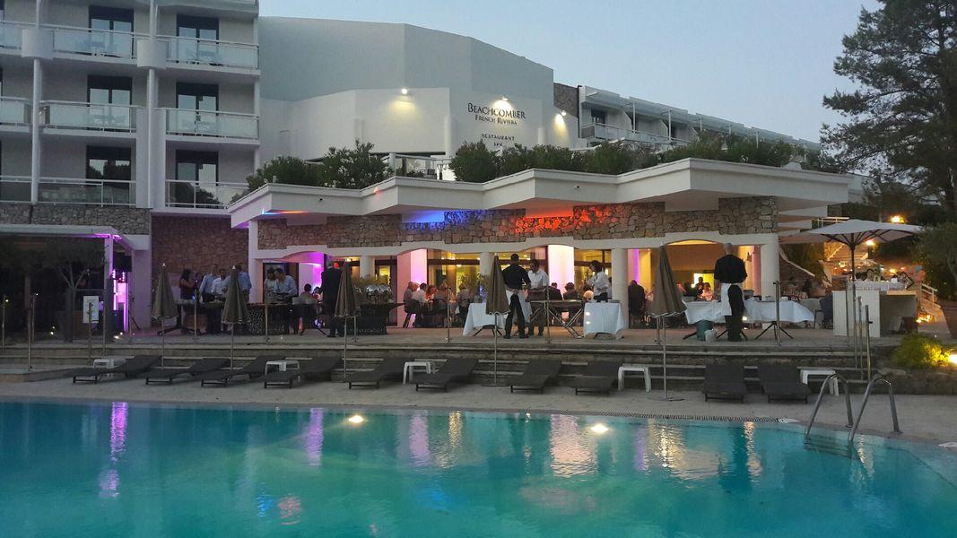 Beachcomber French Riviera **** Diner - Terrasse Loges