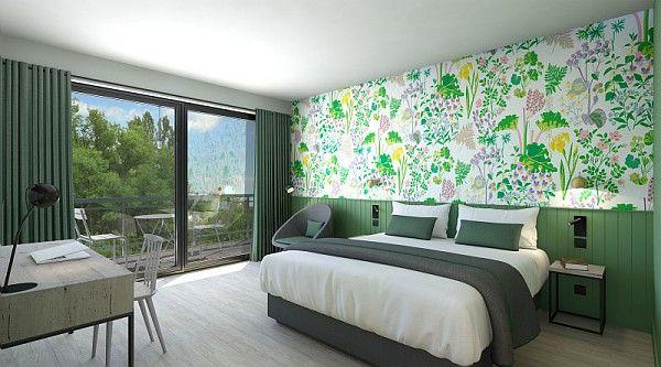 Les Bois-Francs - Center Parcs Chambre double verte