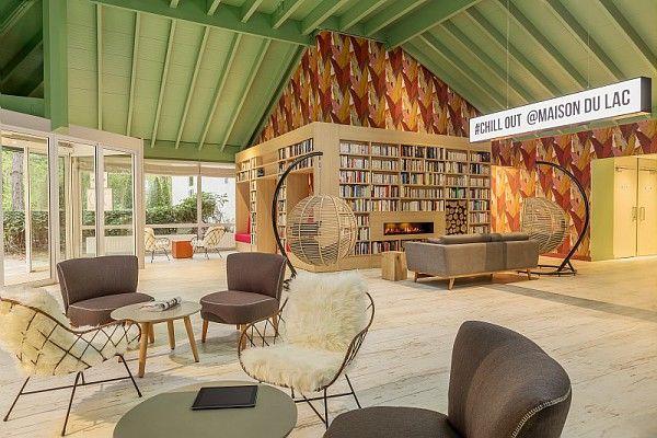 Les Bois-Francs - Center Parcs lobby