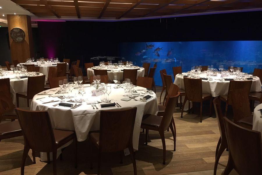 Aquarium de Paris  Restaurant dîner assis