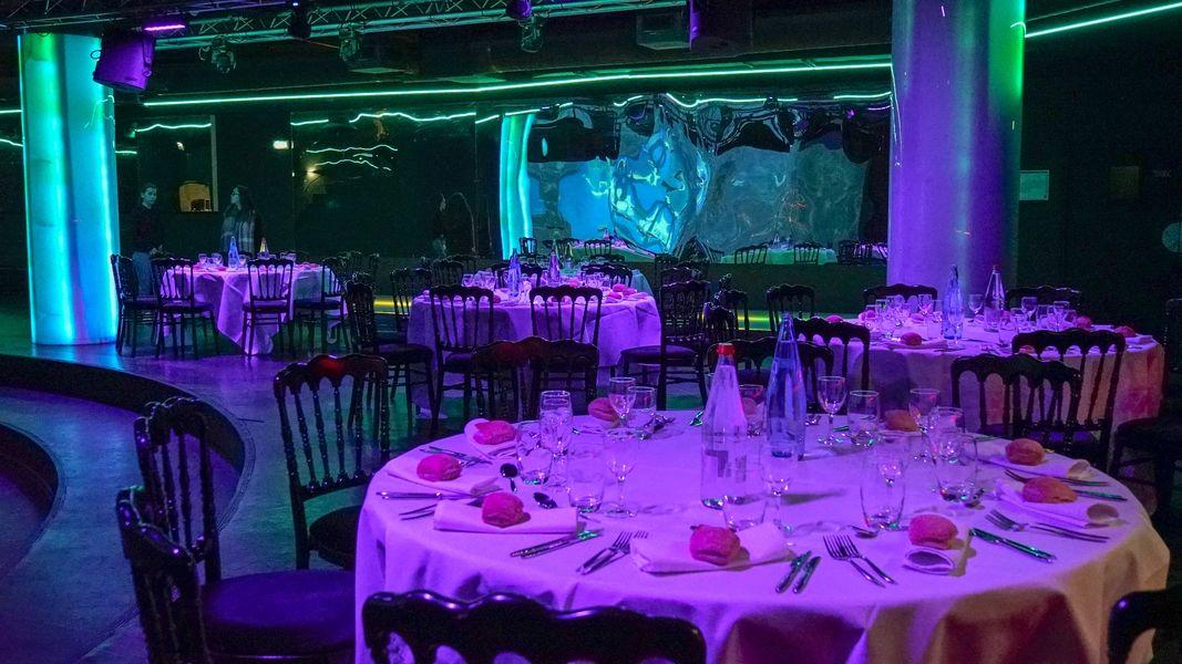 Aquarium de Paris  Loung repas