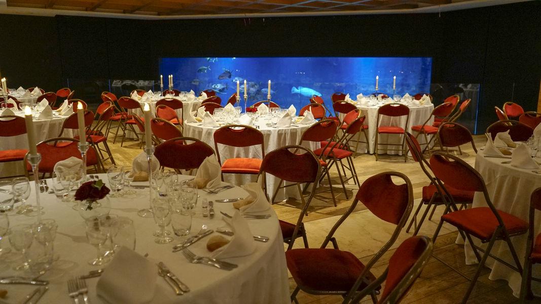 Aquarium de Paris  Restaurant repas