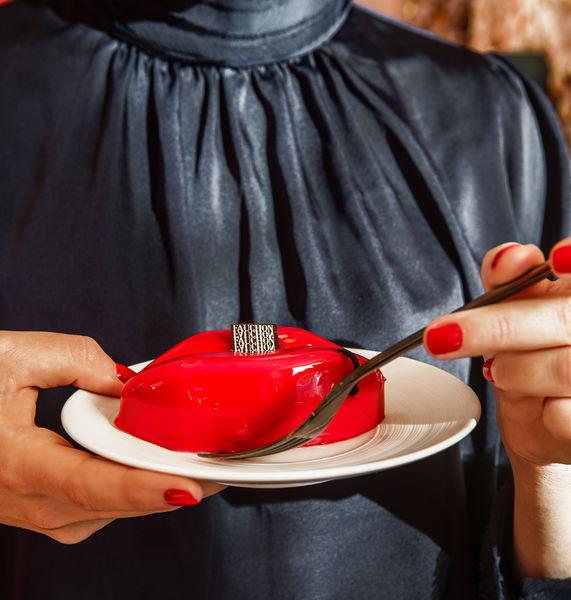 Fauchon L'Hôtel Paris Bisou Bisou, dessert iconîque