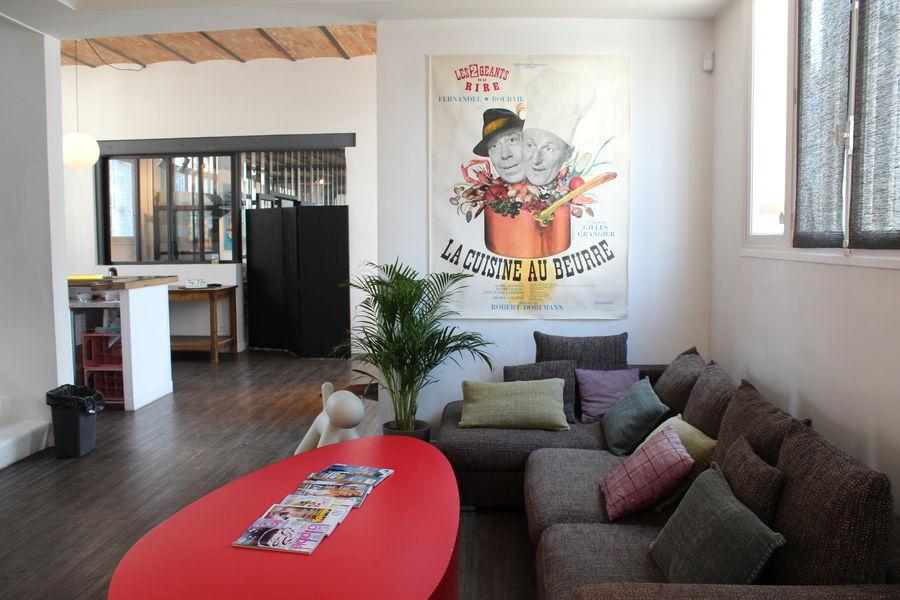 KITCHEN STUDIO Espace Lounge (accueil, bar, détente)