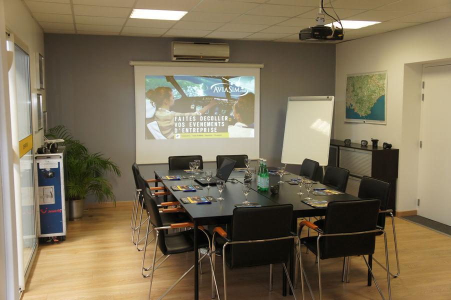 Aviasim Aix En Provence Salle de réunion