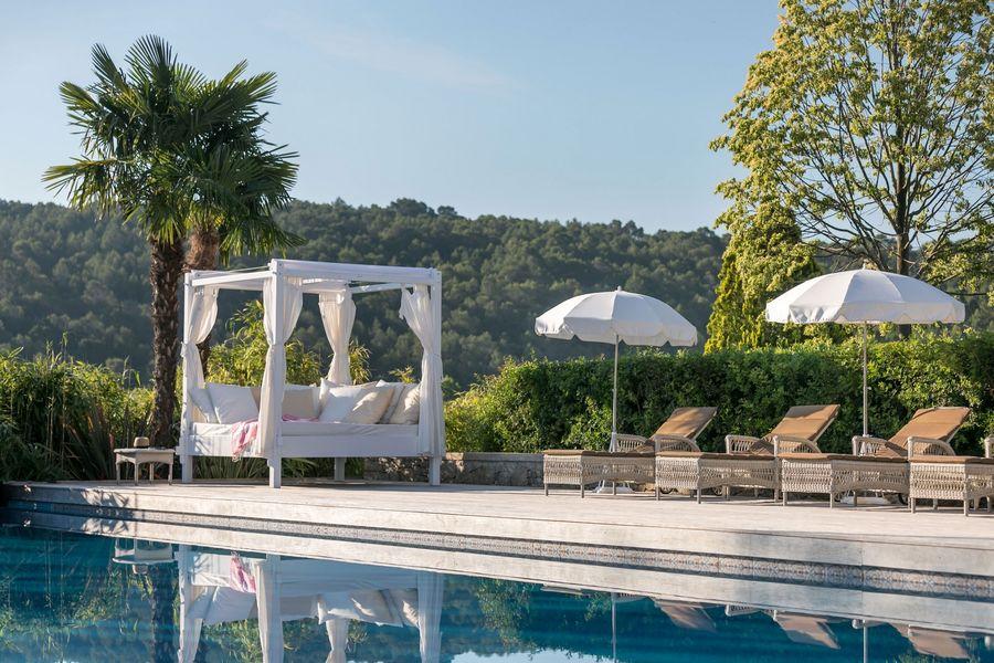 Château de Berne Hôtel & Spa ***** La piscine