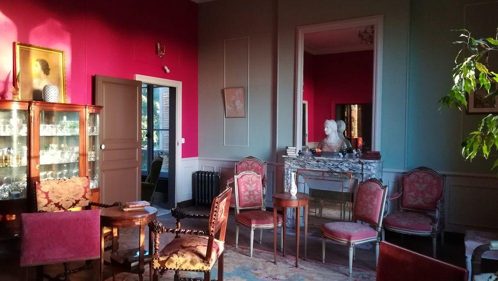 Château La Tour Landry Salon de Piano Princesse Mathilde