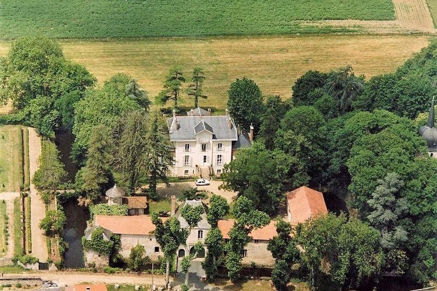 Château La Tour Landry Vue Aérienne