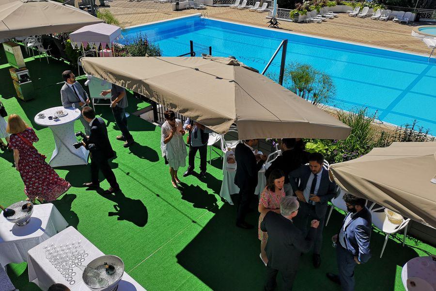 Casino de Saint-Galmier - Le Lion Blanc Cocktail en terrasse