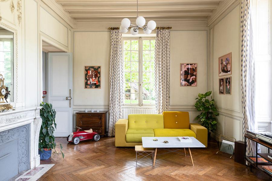 Château de Cop Choux  Salon de lecture
