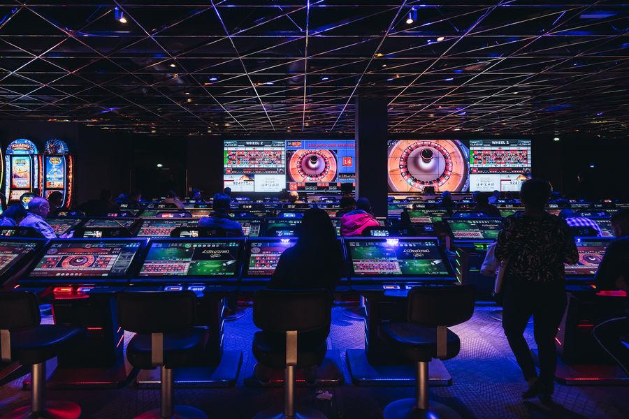 Pasino Grand Salle des jeux : roueltte electronique