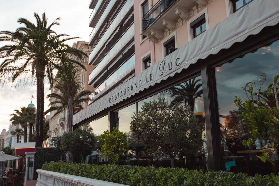 Westminster Hôtel & Spa Nice **** Restaurant Le Duc - terrasse panoramique