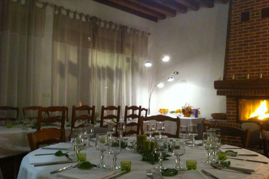 Domaine de Toussacq Salle pour le diner