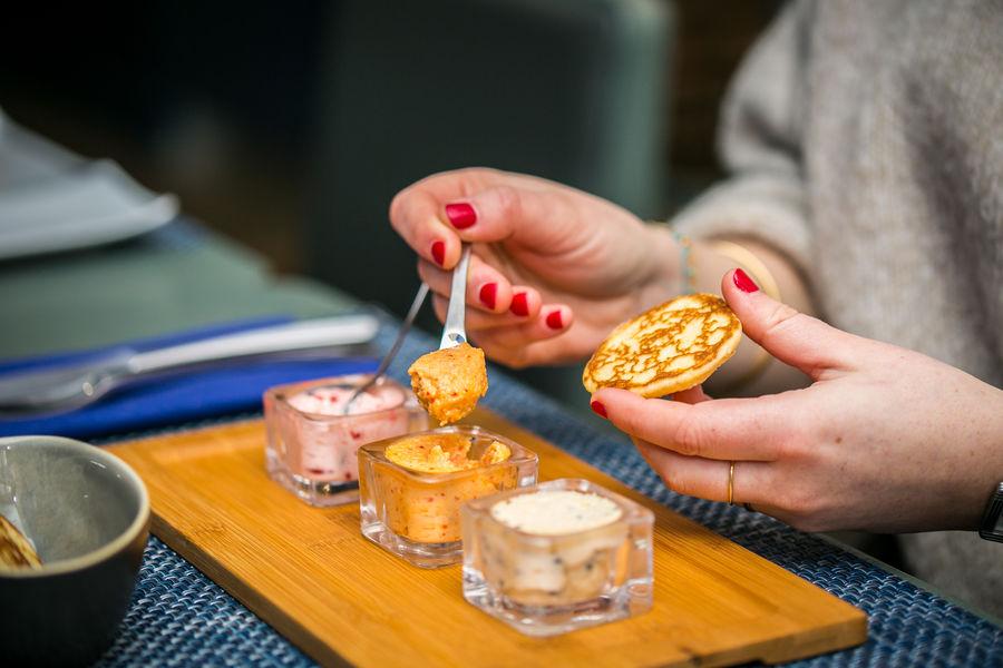Le Comptoir du Caviar Dégustation de caviar