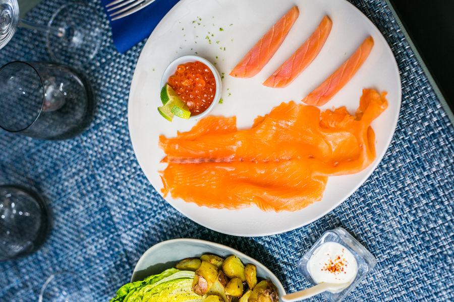 Le Comptoir du Caviar Table de la mer