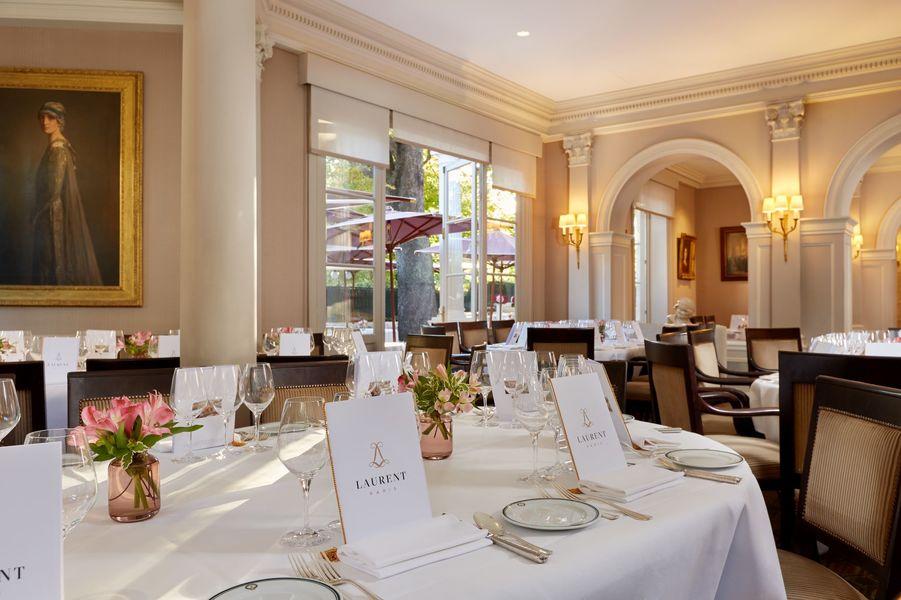 Restaurant Laurent Salle principale du restaurant - privatisation