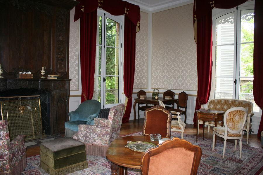 Château La Tour Landry Grand salon Doré Napoléon III