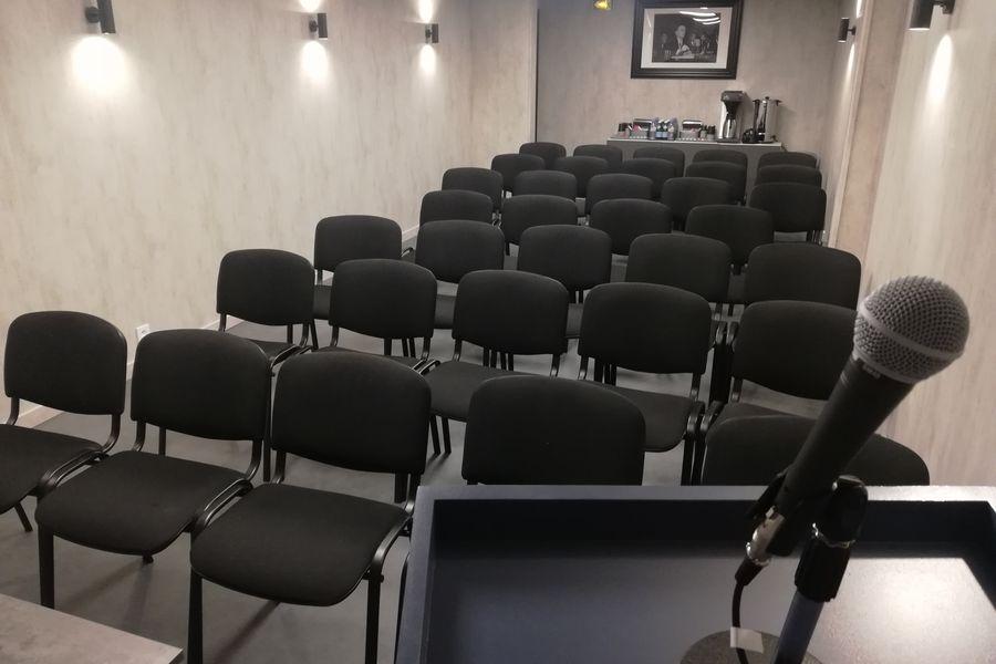 Get Out - Lille Salle de Réunion en conférence