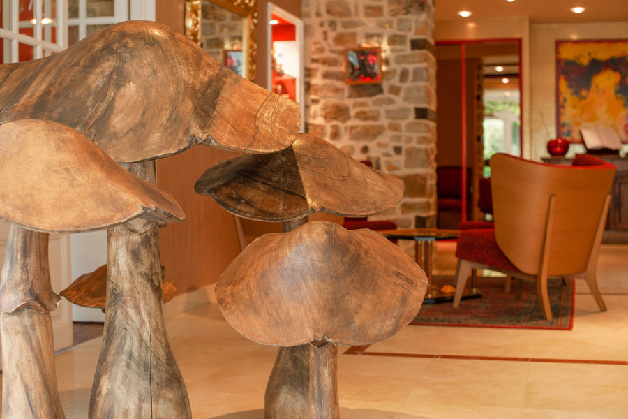 Hotel The Originals Le Manoir du Lys Manoir du Lys champignons