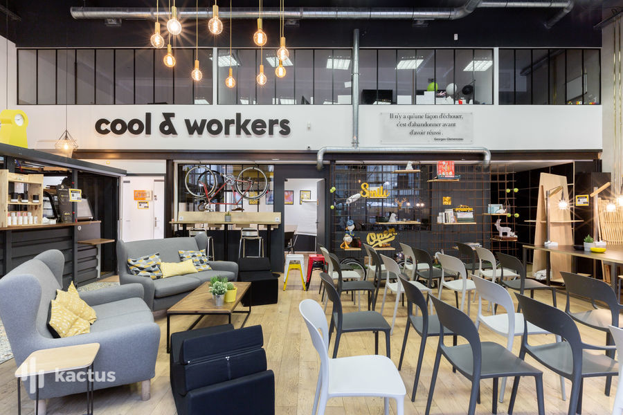 Cool and Workers Chemin vert Espace nomade