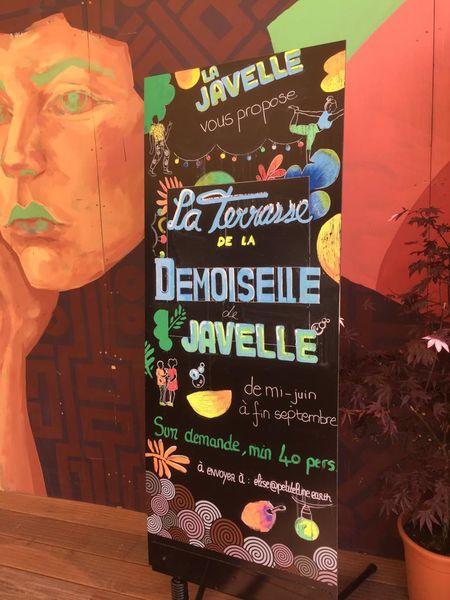 La Terrasse de la Demoiselle de Javelle (sur le quai) De mai à septembre - à partir de 40 personnes