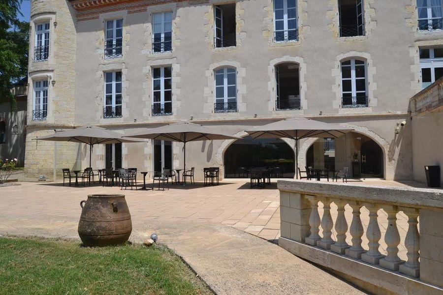 Château Saint Marcel - Hôtel Boé, Agen Terrasse