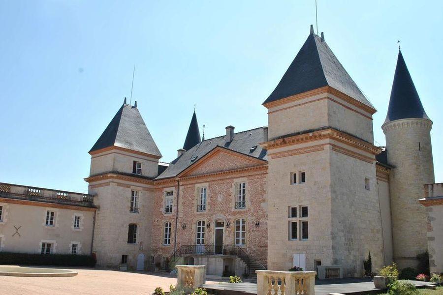 Château Saint Marcel - Hôtel Boé, Agen Façade