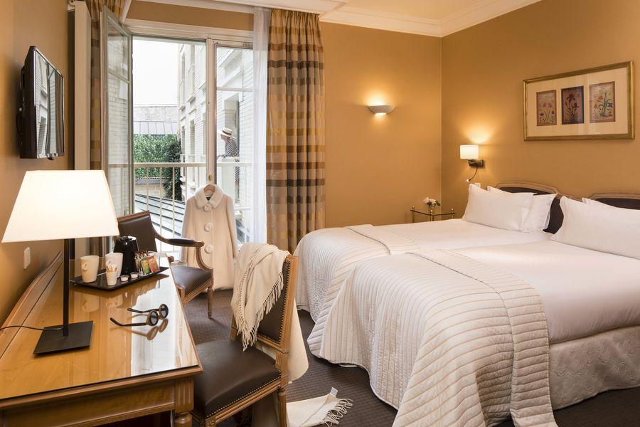 Hôtel Le Littré **** Chambre Standard Twin