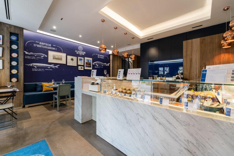 Le Comptoir du Caviar Epicerie et table de la mer