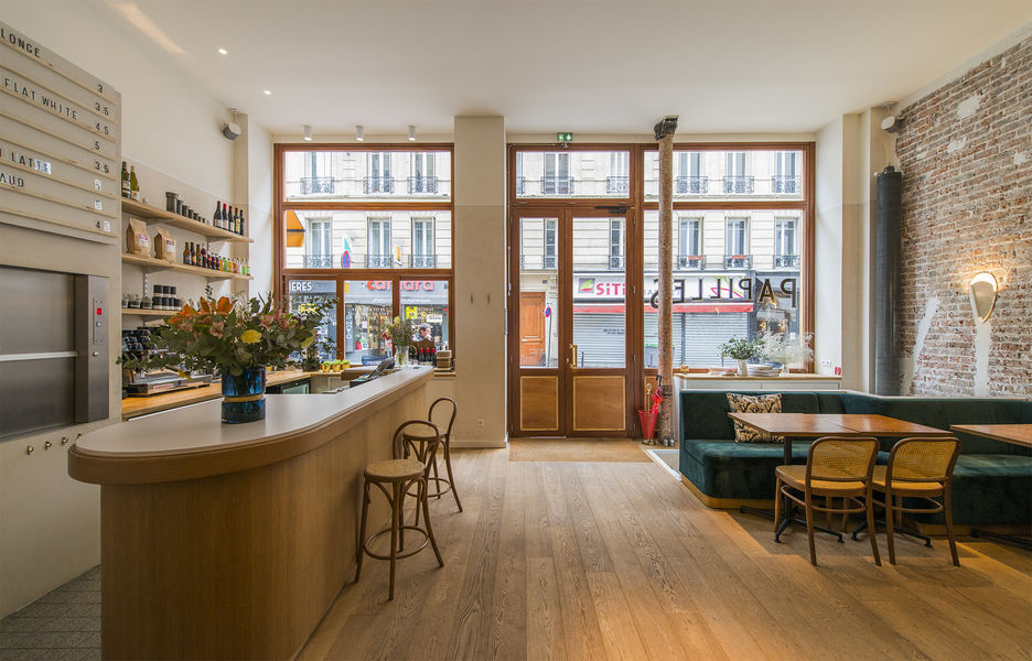 Papilles Coffeehouse Salle