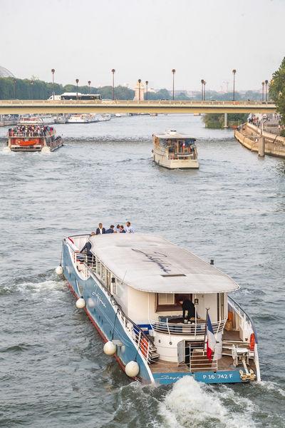 Yacht Joséphine navigation