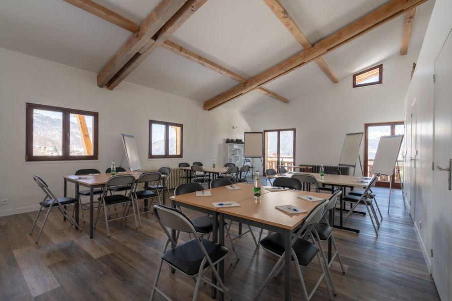 Le Chalet La Terrasse du Mont-Blanc salle de réunion