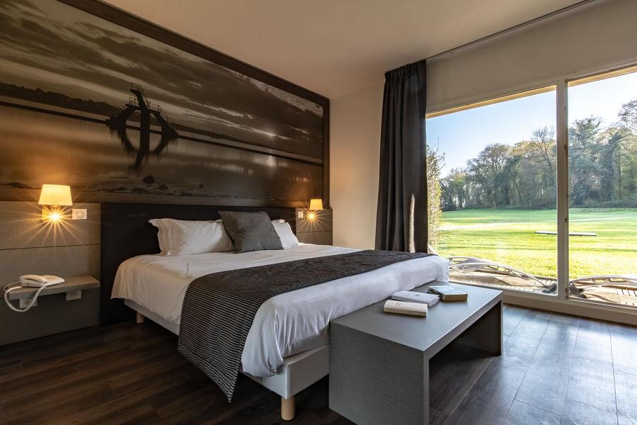 Saint-Malo Golf Resort Chambre double rez de chaussée avec terrasse