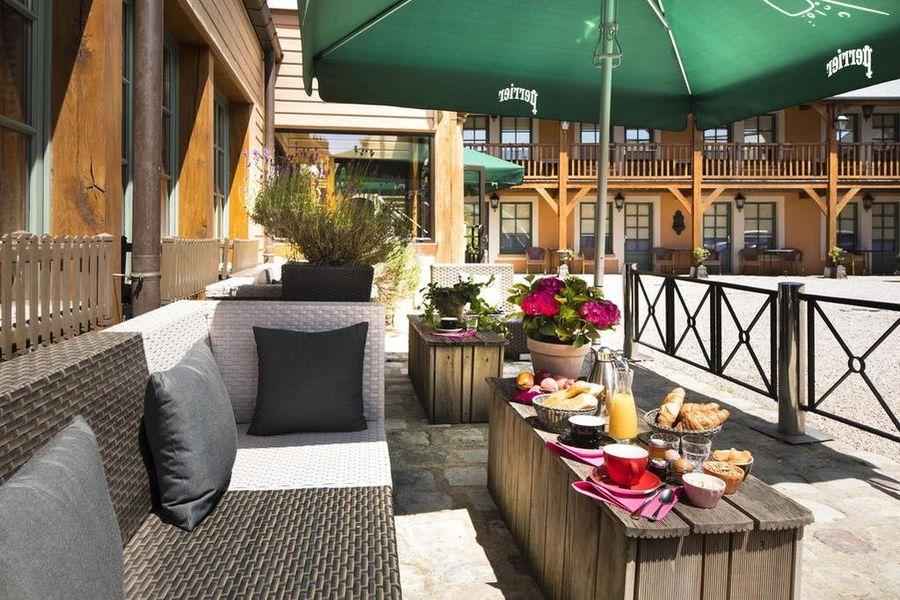 Hôtel et Spa Le Lion d'Or *** Terrasse