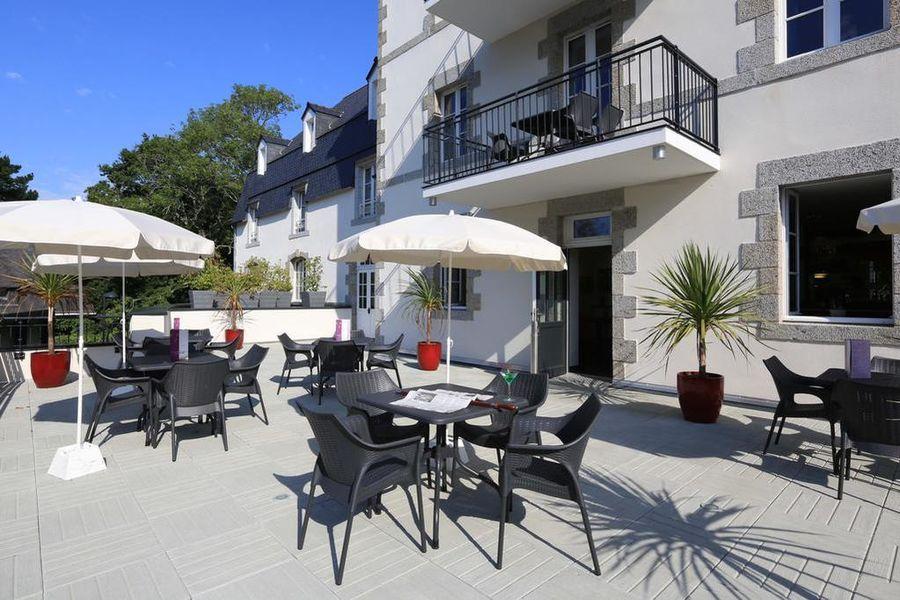 Le Domaine de Pont Aven ArtGallery Resort *** Terrasse