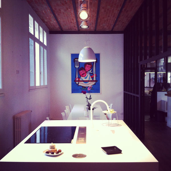 KITCHEN STUDIO Espace Cuisine Blanche