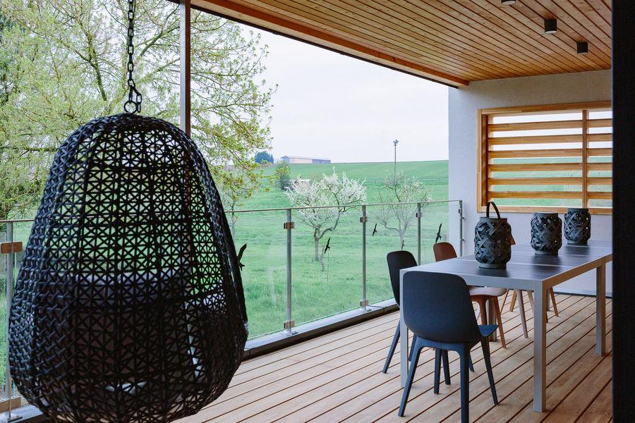 La Maison Devant La Prairie  LA TERRASSE ou LE DECK Belle vue sur prairies