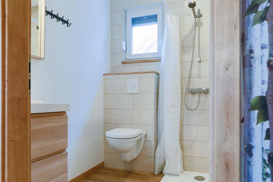 La Maison Devant La Prairie  WC et douche accessible handicapés