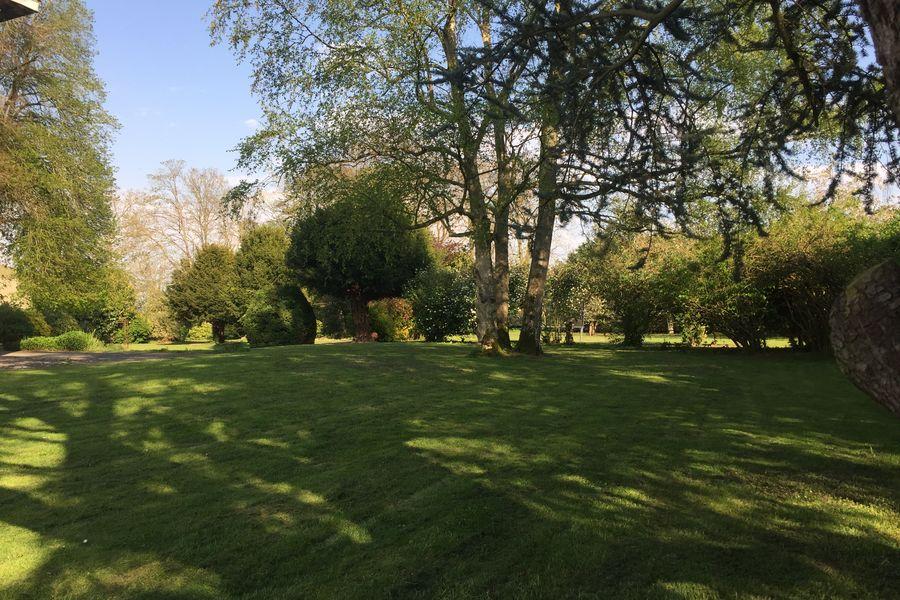 Domaine du Gîte Les Racines Parc & jardin