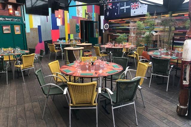 Café Oz Denfert-Rochereau Véranda - Anzac - déjeuner assis