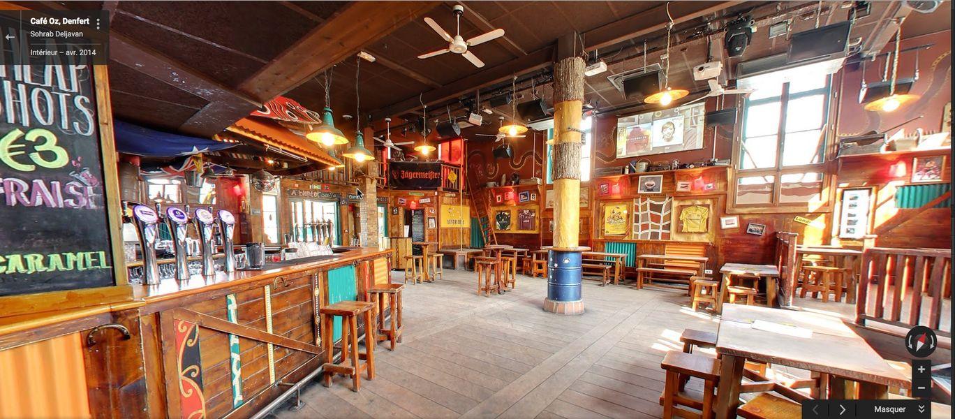 Café Oz Denfert-Rochereau Café Oz Denfert-Rochereau - Salle principale
