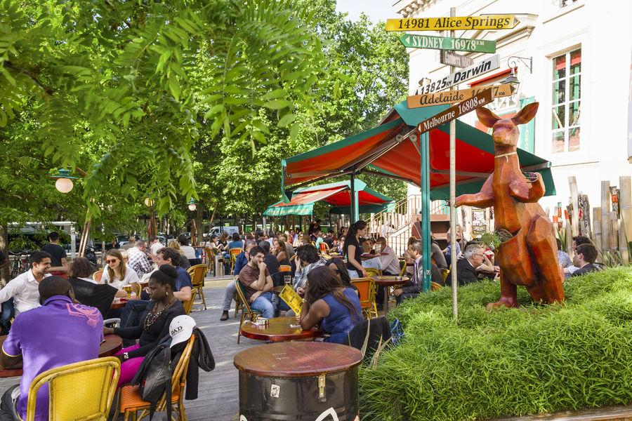 Café Oz Denfert-Rochereau Café Oz Denfert-Rochereau - Terrasse entrée