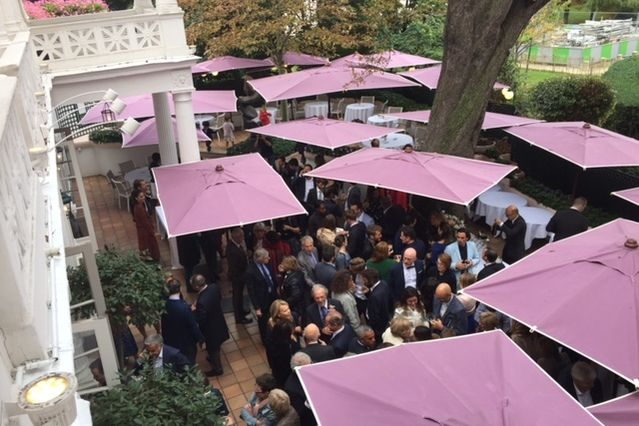 Restaurant Laurent Cocktail terrasse