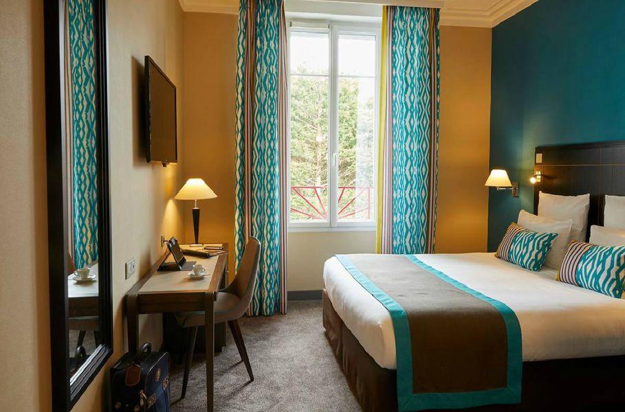 Hôtel Mercure La Baule Majestic **** Chambre côté parc