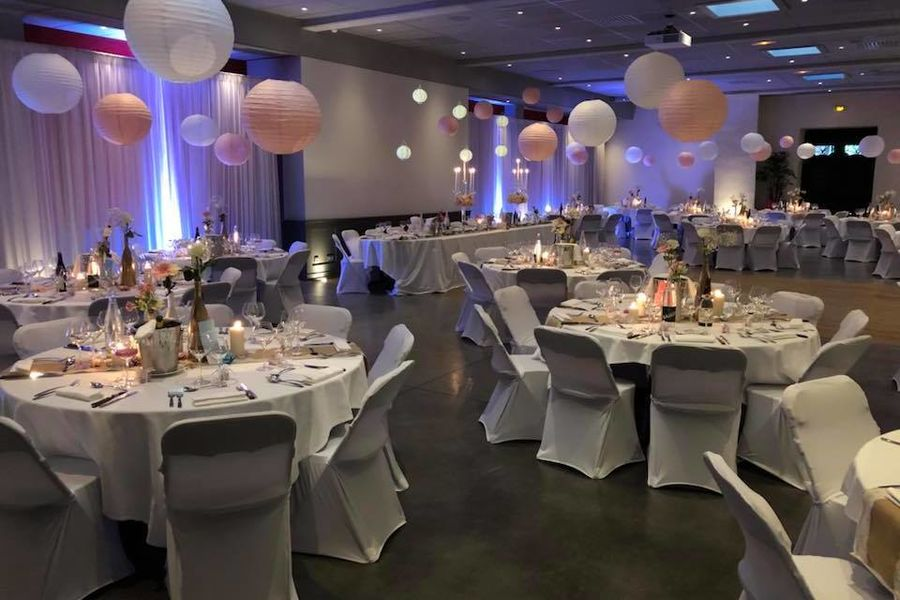 Château de Sans Souci Salle Maestro pour un diner de mariage