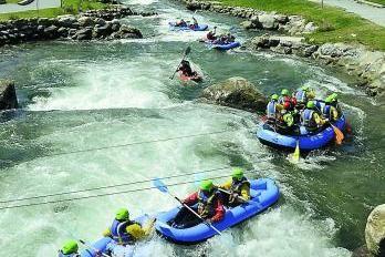 Parc Beaumont MGallery ***** Rafting au Stade d'eaux vives dans Pau