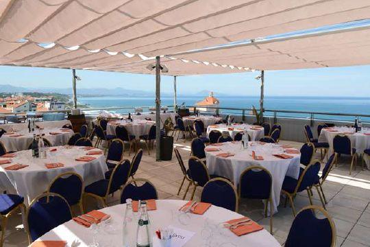 Radisson Blu Hotel Biarritz  Rooftop / banquet