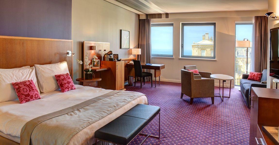 Radisson Blu Hotel Biarritz  Chambre Junior Suite