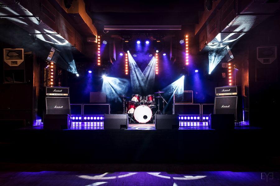 Bus Palladium Scène salle de concert Club